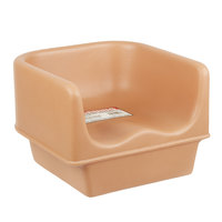 Cambro 100BC157 Beige Plastic Booster Seat - Single Height