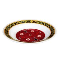 Thunder Group 1106TR Longevity 3 oz. Round Melamine Soup Plate - 12/Pack