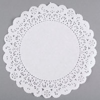 8 inch Lace Normandy Grease Proof Doilies   - 500/Case