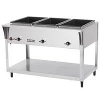 Vollrath 38214 ServePan SL Electric Four Pan Hot Food Table 120V - Sealed Well
