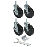 Beverage-Air 00C31-038A 6 inch Replacement Casters - 4/Set