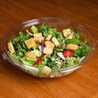 Sabert 13064A50 FreshPack 64 oz. Clear PETE Round Shallow Bowl   - 50/Case