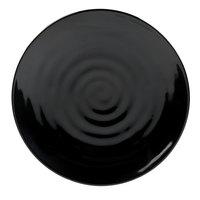 Carlisle 4340403 Terra 9 1/2 inch Black Melamine Plate - 12/Case
