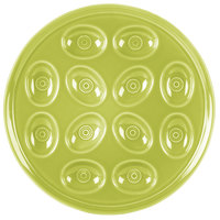 Homer Laughlin 724332 Fiesta Lemongrass 11 1/4 inch Egg Tray - 4/Case