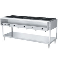 Vollrath 38005 ServeWell Electric Five Pan Hot Food Table 120V - Sealed Well