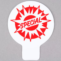 Deli Tag Topper - SPECIAL - Red Starburst