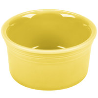 Homer Laughlin 568320 Fiesta Sunflower 8 oz. Ramekin - 6/Case