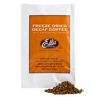 Ellis Freeze Dried Decaf Coffee Packet - 100/Box