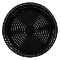 WNA Comet ADEEP518BL CaterLine Casuals Black 18 inch Deep Tray / Platter 5 / Pack