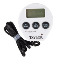 Taylor 5816N Chef's Professional Digital Kitchen Timer / Stopwatch with Lanyard