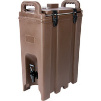 Carlisle LD500N01 Cateraide™ LD 5 Gallon Brown Insulated Beverage Dispenser