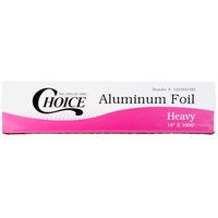 Choice 18 inch x 1000' Food Service Heavy-Duty Aluminum Foil Roll