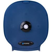 San Jamar R3800TBL Four Station Carousel Toilet Tissue Dispenser - Arctic Blue