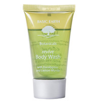 Basic Earth Botanicals Hotel and Motel Body Wash 1 oz. Bottle - 300/Case