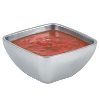 Vollrath 47659 24 oz. Double Wall Square Serving Bowl