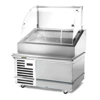 Traulsen TD048HT-1 Stainless Steel 48 inch Deli Case with Casters - Specification Line