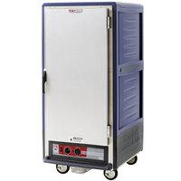 Metro C537-HFS-U-BU C5 3 Series Heated Holding Cabinet with Solid Door - Blue