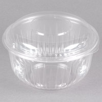 Dart C48BCD PresentaBowls 48 oz. Clear Plastic Bowl with Dome Lid - 126/Case