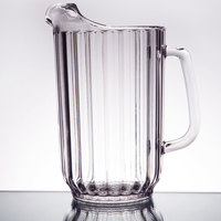 Cambro P480CW135 Camwear 48 oz. Clear Customizable Plastic Pitcher