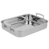 Vollrath 49435 Miramar Display Cookware 2.8 Qt. Small Food Pan with Handles