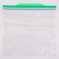 Diversey Ziploc 6 1/2 inch x 6 inch Sandwich Bag - 500/Case