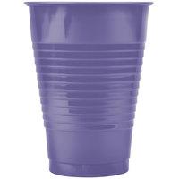 Creative Converting 28115071 12 oz. Purple Plastic Cup - 240/Case
