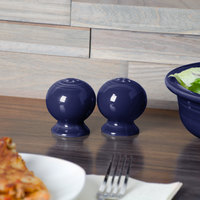 Homer Laughlin 750105 Fiesta Cobalt Blue Salt Shaker - 12/Case