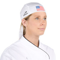 Headsweats American Flag Eventure Fabric Adjustable Chef Bandana / Do Rag