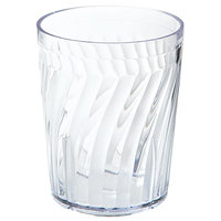 GET 2206-1-CL Tahiti 6 oz. Clear Customizable SAN Plastic Tumbler - 72/Case