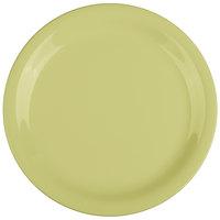 GET NP-7-AV Avocado Diamond Harvest 7 1/4 inch Rolled Edge Plate - 48/Case