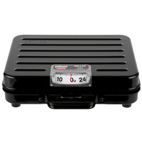 Rubbermaid FGP250S Pelouze 250 lb. Mechanical Receiving Scale - Briefcase