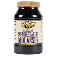 Golden Barrel 1 Qt. Sulfur-Free Supreme Baking Molasses - 12/Case