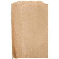 Duro 6 inch x 9 inch Brown Merchandise Bag   - 1000/Bundle