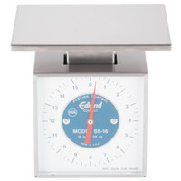 Edlund SS-16 O Compact 16 oz. Mechanical Portion Scale with 4 inch x 6 inch Platform
