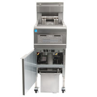 Frymaster FPGL130-2C Natural Gas 30 lb. Split Pot Floor Fryer - 75,000 BTU