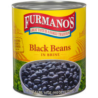 Furmano's Fancy Black Beans in Brine #10 Can