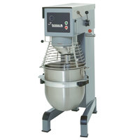 Varimixer V60P 60 Qt. Commercial Planetary Floor Pizza Mixer with Dough Hook - 208V, 3 hp