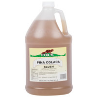 Fox's 1 Gallon Pina Colada Slush Syrup - 4/Case