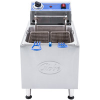 Globe PF16E 16 lb. Electric Countertop Fryer
