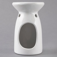 American Metalcraft BWW35 Ceramic Butter Melter-White