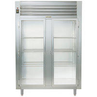 Traulsen AHT232WUT-FHG Two Section Glass Door Reach In Refrigerator - Specification Line