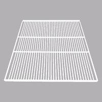 True 892612 White Coated Wire Shelf with Shelf Clips - 23 1/2 inch x 28 13/16 inch
