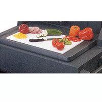 Cambro CB1220 13 1/8 inch x 21 inch White Cutting Board for Vending / Kiosk Carts