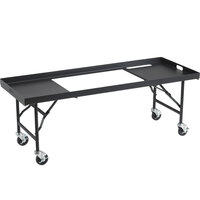 Crown Verity TB-60 60 inch Portable Grill Table