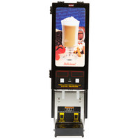 Bunn SET00.0200 FMD-2 BLK Fresh Mix Cappuccino / Espresso Machine Hot Beverage Dispenser with 2 Hoppers - 120V