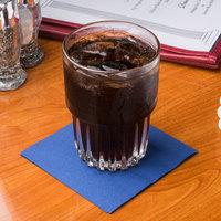 Hoffmaster 180322 Navy Blue Beverage / Cocktail Napkin - 1000/Case