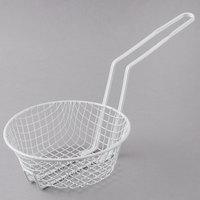 8 inch Coated Coarse Mesh Breading Basket