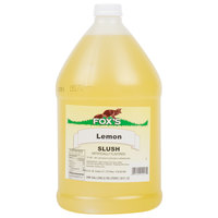 Fox's 1 Gallon Lemon Slush Syrup   - 4/Case