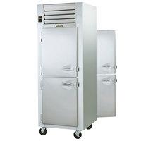 Traulsen G10004P 1 Section Solid Half Door Pass-Through Refrigerator - Left / Left Hinged Doors