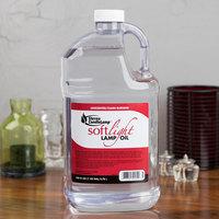 Sterno 30644 Soft Light 1 Gallon Bulk Lamp Fuel, Smokeless Liquid Candle Paraffin Wax - 4/Case